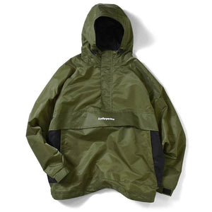 Lafayette Reflector Piping Nylon Anorak Jacket