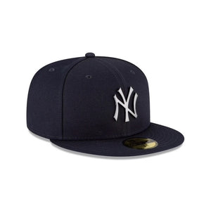 New Era New York Yankees 59Fifty Fitted Brushed Logo