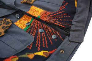 Apache Pilot Riot Officer Jacket Multi