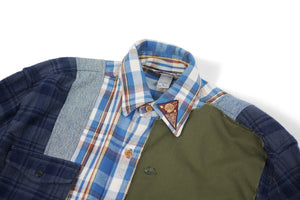 Apache Frank Sinatra Button Shirt Plaid