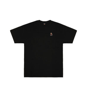 Happy Munkey Logo Tee Black