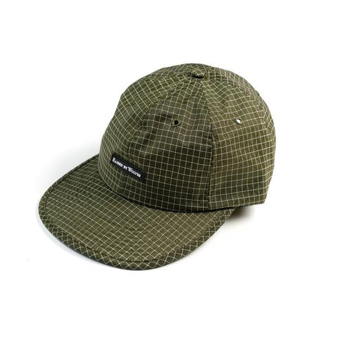 Raised by Wolves Gripstop 6 Panel Cap Dark Olive