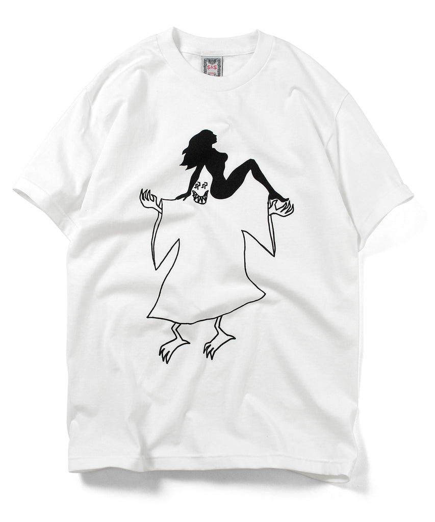 Saints & Sinners Ghost & Girls Tee White