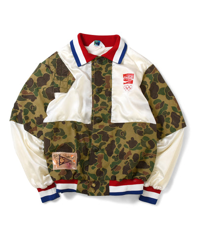 Apache Coca Cola USA Camo Jacket Multi