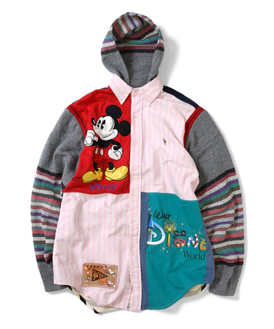 Apache Walt Disney Button Up Hoody Multi