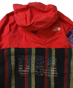 Apache Nylon Baja Hooded Jacket Multi
