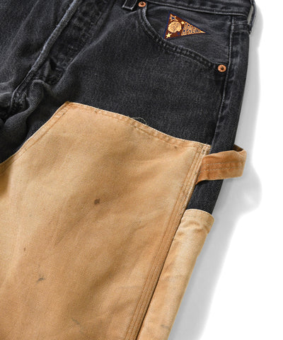 Apache Dark Denim Pants Multi