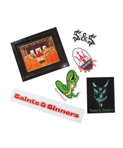 Saints & Sinners Sticker Pack