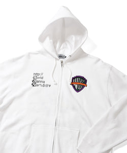 Wanna WWW Zip Up Hoodie Sweatshirt