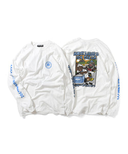 PRIVILEGE x Mikey Likes It Mikey Kart L/S Tee