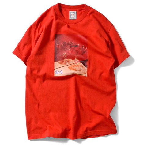Saints & Sinners Romantic Tee Red