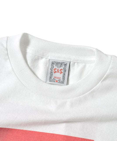 Saints & Sinners Romantic Tee White