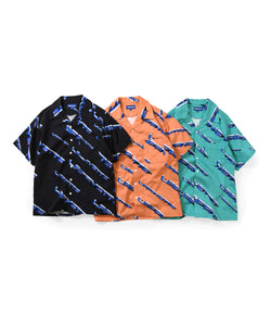 Lafayette 90s Polygon Logo Open Collar S/S Shirt