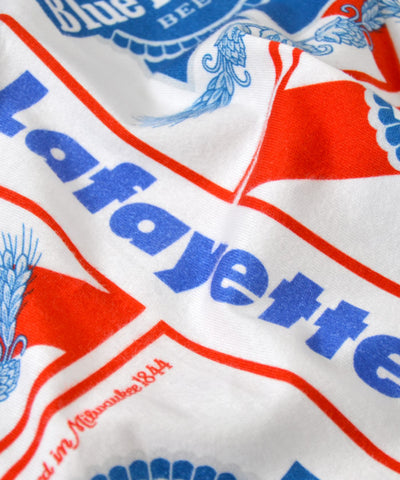 Lafayette x PABST BLUE RIBBON-ALLOVER S / S POCKET TEE