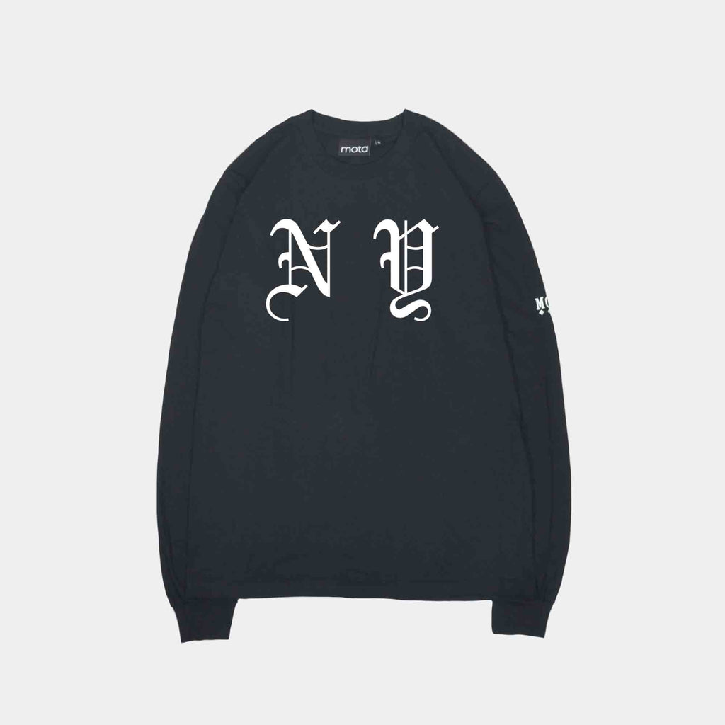 Mota NY Rights L/S Tee Black