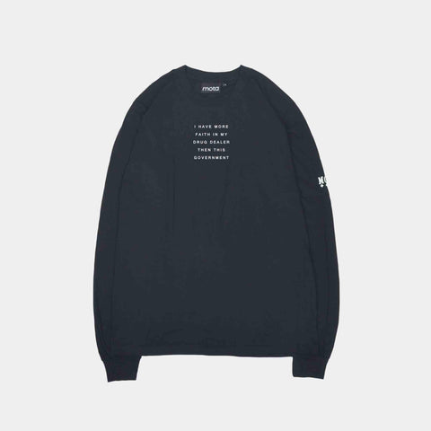 Mota Faith L/S Tee Black
