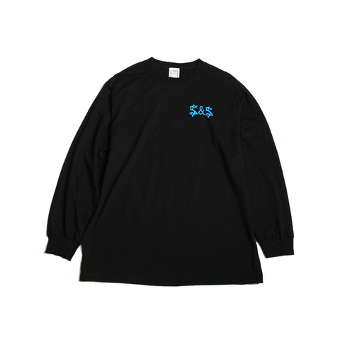 Saints & Sinners Screaming Angels L/S Tee Black