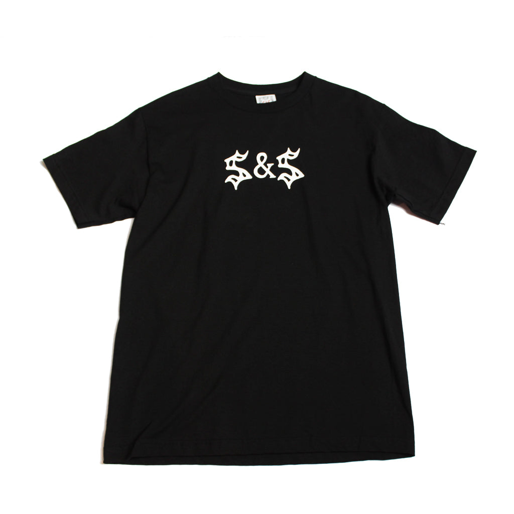 Saints & Sinners Logo Tee Black