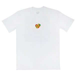 Dee & Ricky x 20/20 Collections - World Record Tee White