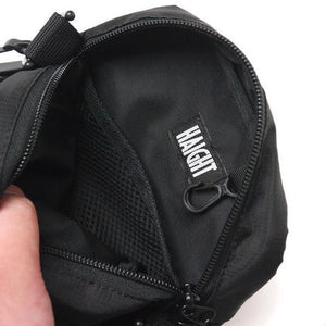 Haight Ripstop Shoulder Pouch Black