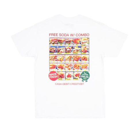 Western Elders Snack Box Tee White