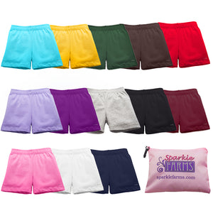 6996a1c47 Girls Multicolor Sets of Cartwheel Shorts for Playground Modesty ...