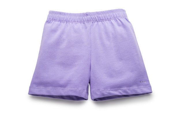 Buy lilac girls under uniform and under dress modesty shorts at SparkleFarms.com