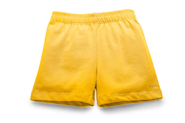 Girls Yellow Under Skirts Modesty Shorts | Buy at SparkleFarms.com