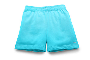 Girls aqua under dress modesty shorts | Sparkle Farms