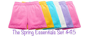Spring Essentials Set of Six Under Dress Modesty Shorts - Special Offer