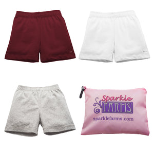Buy girls under uniform shorts at Sparkle Farms