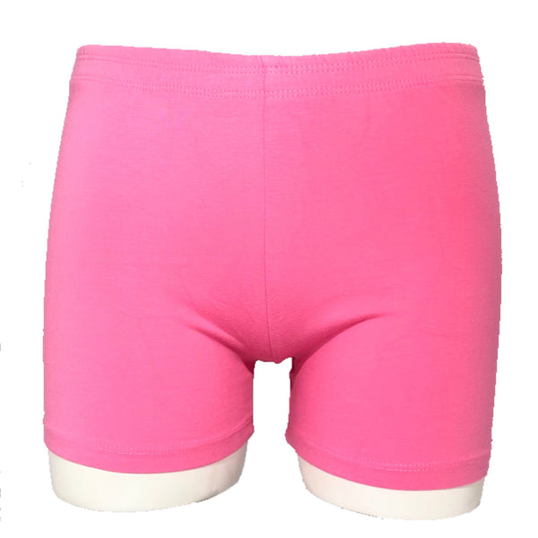Girls Under School Uniform and Under Dress Active Playground Bike Shorts Set - Pink White Lilac - Girls Rule!