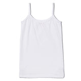 under school uniform white camisole |SparkleFarms.com
