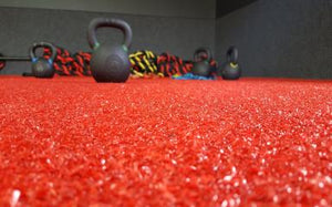 Sports Turf 40 5mm - red - FITFLOORS...Rubber Floors & more