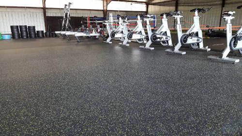 PremierTuff Rubber Flooring-Galaxy Plus - FREE SHIPPING with 300 sf or more - FITFLOORS.com