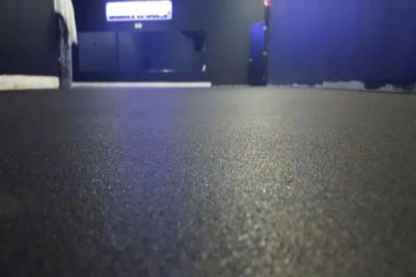 PTR Rubber flooring  - black - FITFLOORS...Rubber Floors & more