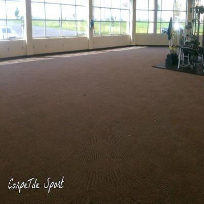 CarpeTile Sport - Home Gym - shipping included - FITFLOORS...Rubber Floors & more