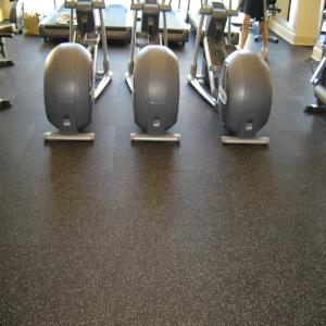 Interlocking Rubber Gym Tiles - FREE SHIPPING on 300 sf or more - FITFLOORS.com
