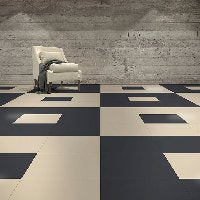 Flex tiles- Leather & Slate - FITFLOORS...Rubber Floors & more