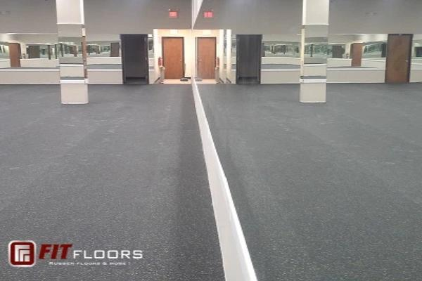 PremierTuff Rubber Flooring - Galaxy colors - FREE SHIPPING 300 sf or more