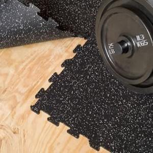"Home Gym - Interlocking Rubber Tiles (5/16"") - Free Customer Pick up"