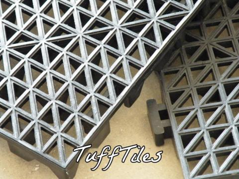 TuffTiles - Interlocking Tiles - Price Reduction - FITFLOORS...Rubber Floors & more