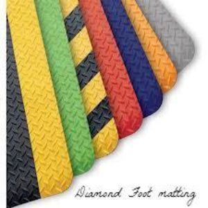 Diamond Foot Matting - FITFLOORS...Rubber Floors & more