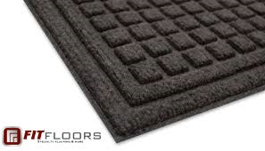 EcoSquares Entrance Mat - FITFLOORS...Rubber Floors & more