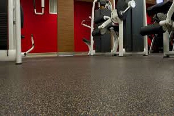 RUBBER GYM FLOORING ROLLS PLUS