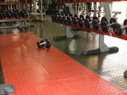 Coin top Flex tile - home gym packages - FITFLOORS...Rubber Floors & more