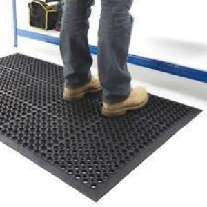 Drain-Thru  Matting From FitFloors.com - FITFLOORS...Rubber Floors & more