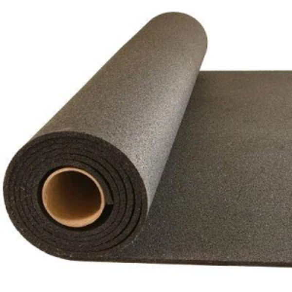 PremierTuff Rubber Flooring  --- Black --- FREE SHIPPING - FITFLOORS...Rubber Floors & more