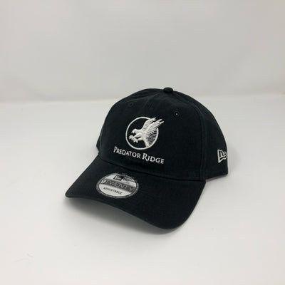 New Era 9Twenty Adjustable Cap - White on Black