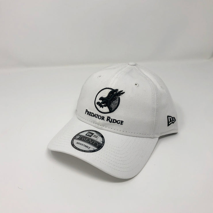 New Era 9Twenty Adjustable Cap - Black on White